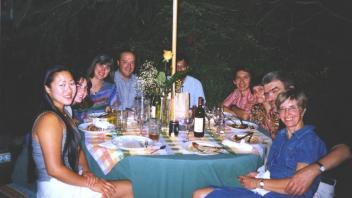 Marisa Wong, Jennifer Holt, Catalina and Pablo Corva, Deven Mistry, Alfredo and Alma Islas, JFM and Barbara, 1999