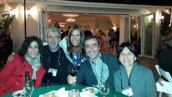 Angela Canovas, Juan Medrano, Rosina Fossati, Toni Reverter and Alma Islas, January, 2014