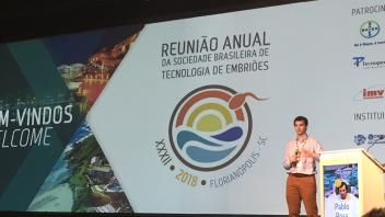 Dr. Ross presenting in Brazil