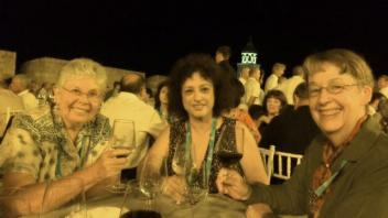 Carol Beatty (Prof. Emerita, UCDMC), Dr. Zehava Uni (Chair Dept. of Animal Science, Hebrew U of Jerusalem) and Dr. Bradley at the EPC Gala Dinner in Dubrovnik
