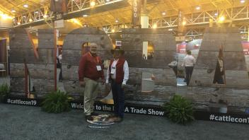 Don Harper and Dan Sehnert at the National Beef Cattlemen's Association Convention