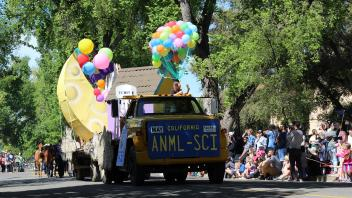 Picnic Day 2019 Animal Science Float