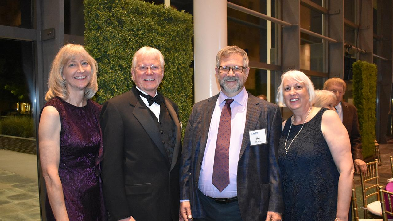 Award reception for Dr. Oberbauer at the Mondavi Center, UC Davis